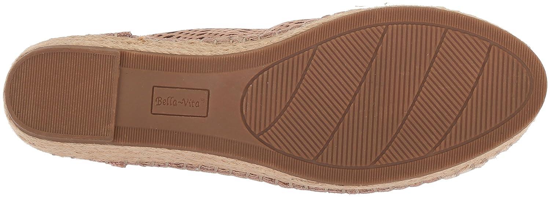 Bella Vita Women's Clementine Sneaker B078216N88 7.5 B(M) US|Blush Kid Suede