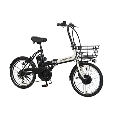 PELTECH 折り畳み電動アシスト自転車 TDN-208