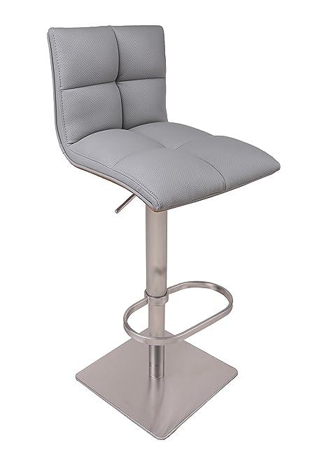 Enjoyable Amazon Com Light Gray Contemporary Modern Adjustable Machost Co Dining Chair Design Ideas Machostcouk