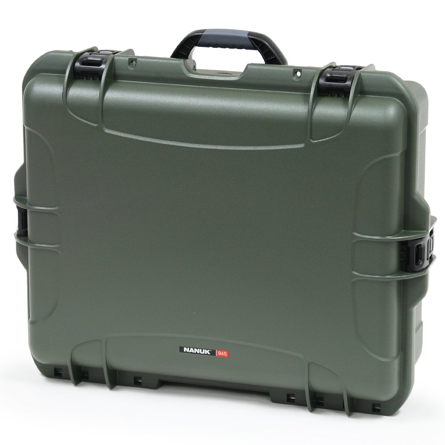 Nanuk 945 Case with Padded Divider (Olive) [並行輸入品] B019SZ7BE0