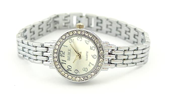 Reloj De Mujer Plata Mujeres Pulsera Relojes de marcas Reloj Designer Classic Reloj Silver Watch