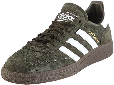 Adidas Originali Uomo Spezial / Formatori 660273 Buio Olive / Spezial Bianco / Gomma 4 a7c90f