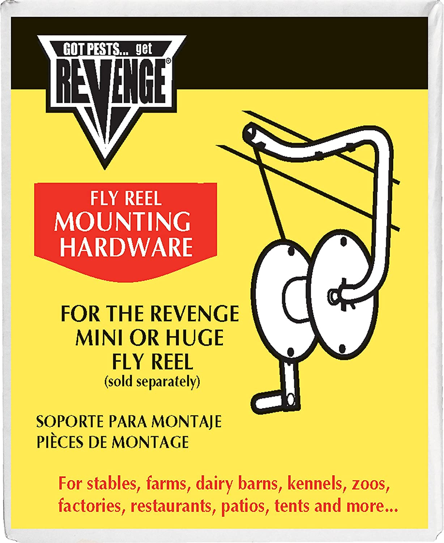 Bonide Revenge Mounting Hardware For Fly Tapes Assorted col