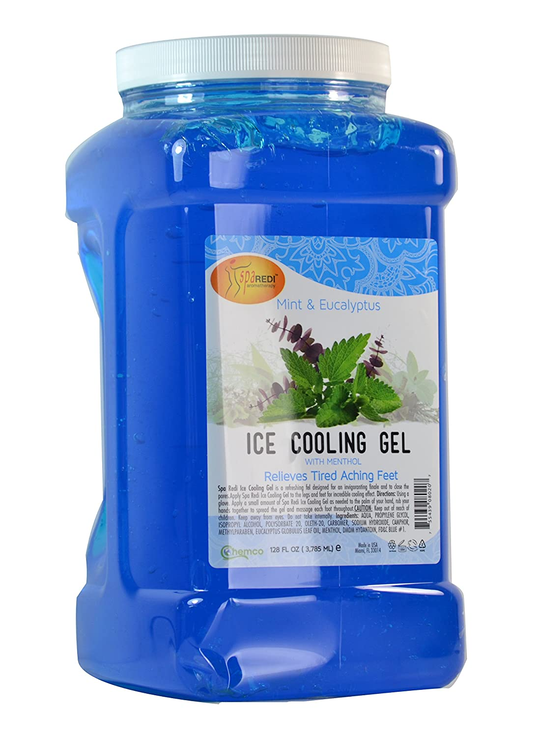 Spa Redi Ice Cooling Gel (1 Gallon - Mint & Eucalyptus)