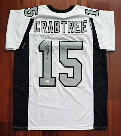 official photos 26c53 4aa07 Michael Crabtree Autographed Signed Jersey Oakland Raiders ...