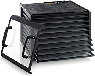 product image for Excalibur 3926TCDB 9-Tray Electric Food Dehydrator with Clear Door Adjustable Temperature Settings and 26-Hour Timer, Black