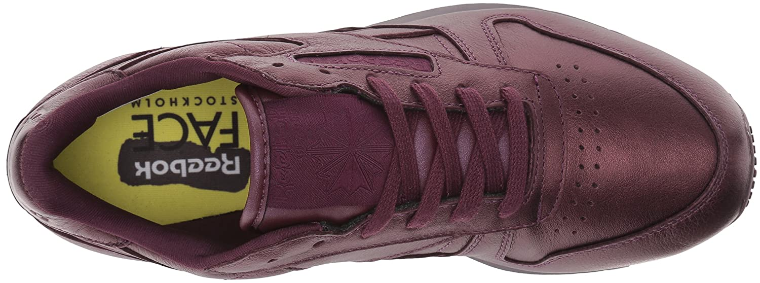 Reebok Women's Cl Lthr Face Fashion Sneaker, AmbitionWonder