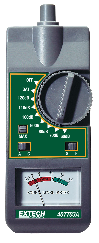 Extech 407703A Analog Sound Level Meter