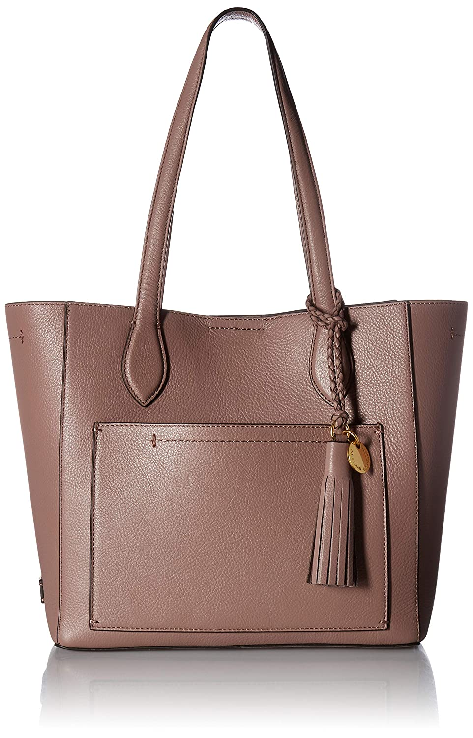 977d460b6d Cole Haan Piper Small Leather Tote Bag, barbados cherry: Handbags:  Amazon.com