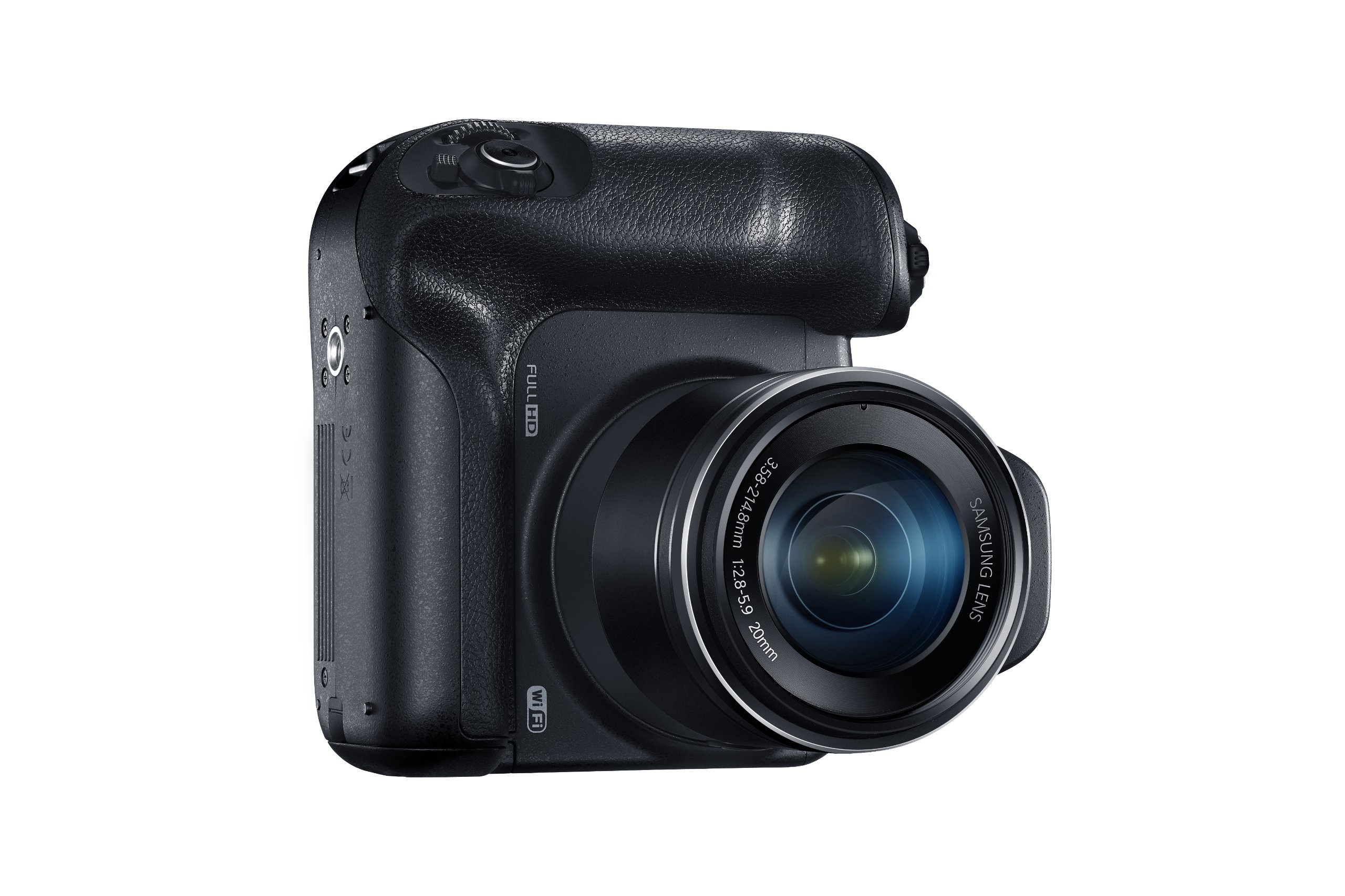 Samsung WB2200F 16.3MP CMOS Smart WiFi & NFC Digital Camera with 60x Optical  Zoom, 3.0'' LCD and 1080p HD Video (Black) by Samsung (Image #6)