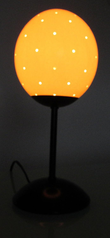 Lampe Autruche Oeuf 57 Trous Avec Base En Metal De 15 Cm Amazon Fr
