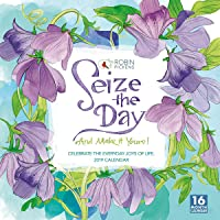 2019 Seize the Day 16-Month Wall Calendar: by Sellers Publishing, 12x12 (CA-0402)