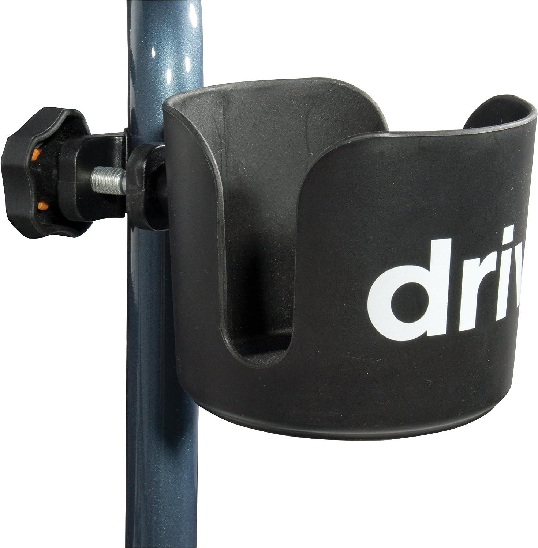 Drive Medical Universal Cup Holder, Black