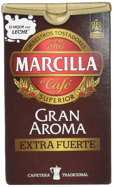 Marcilla Café Molido Gran Aroma, Extra Fuerte - 250 gr: Amazon.es: Amazon Pantry