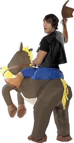 Smiffys Mens Ride Em Cowboy Inflatable Costume