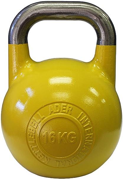 907fc3c1eba9f Amazon.com : Ader Pro-Grade International Kettlebell- (16kg) : Kettlebell  Weights : Sports & Outdoors