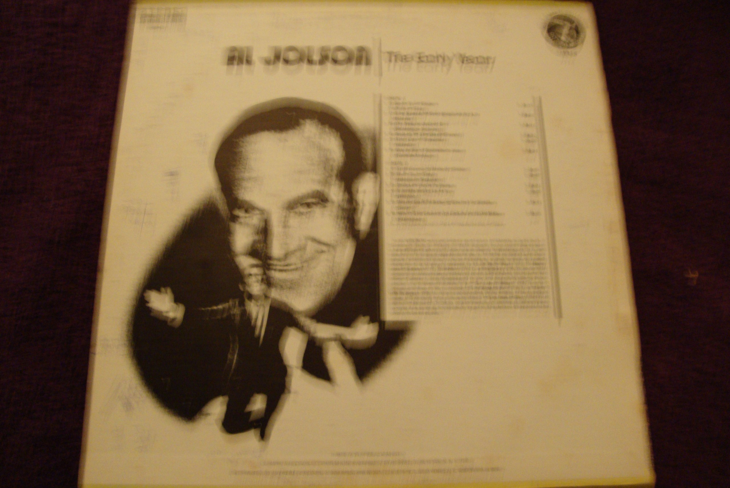 El verdadero jolson (los primeros años) LP