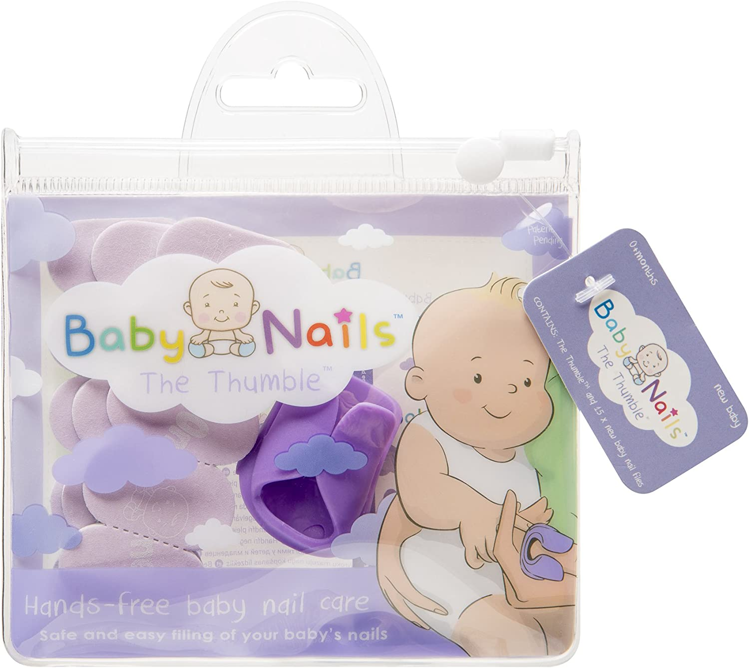 The Thumble - Wearable Baby Nail File image 1