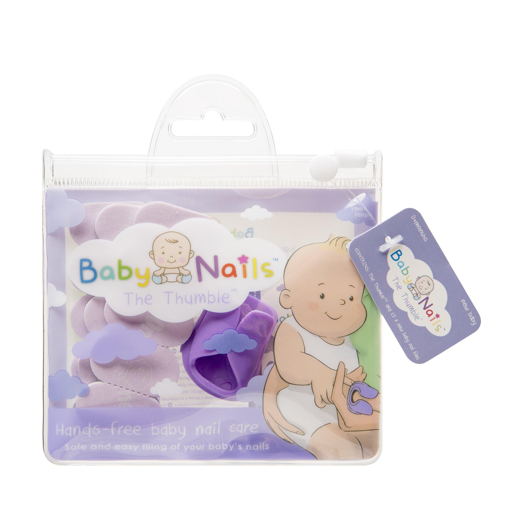 Lima de uñas para recien nacidos (0 meses +) I Cuidado de uñas bebé