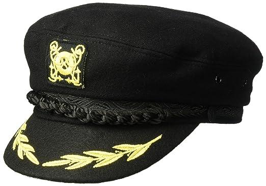 aa46082ed8ee5 Country Gentleman Men s Wool Captain s Cap Hat at Amazon Men s ...