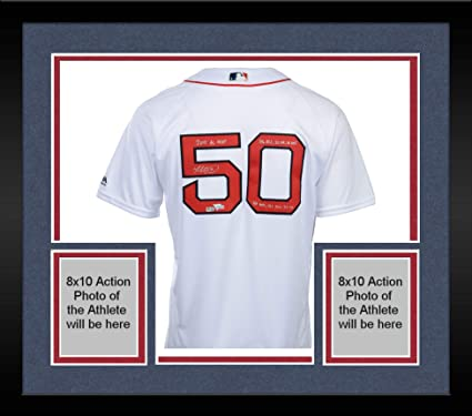 official photos e979d b28e9 Framed Mookie Betts Boston Red Sox Autographed Majestic ...