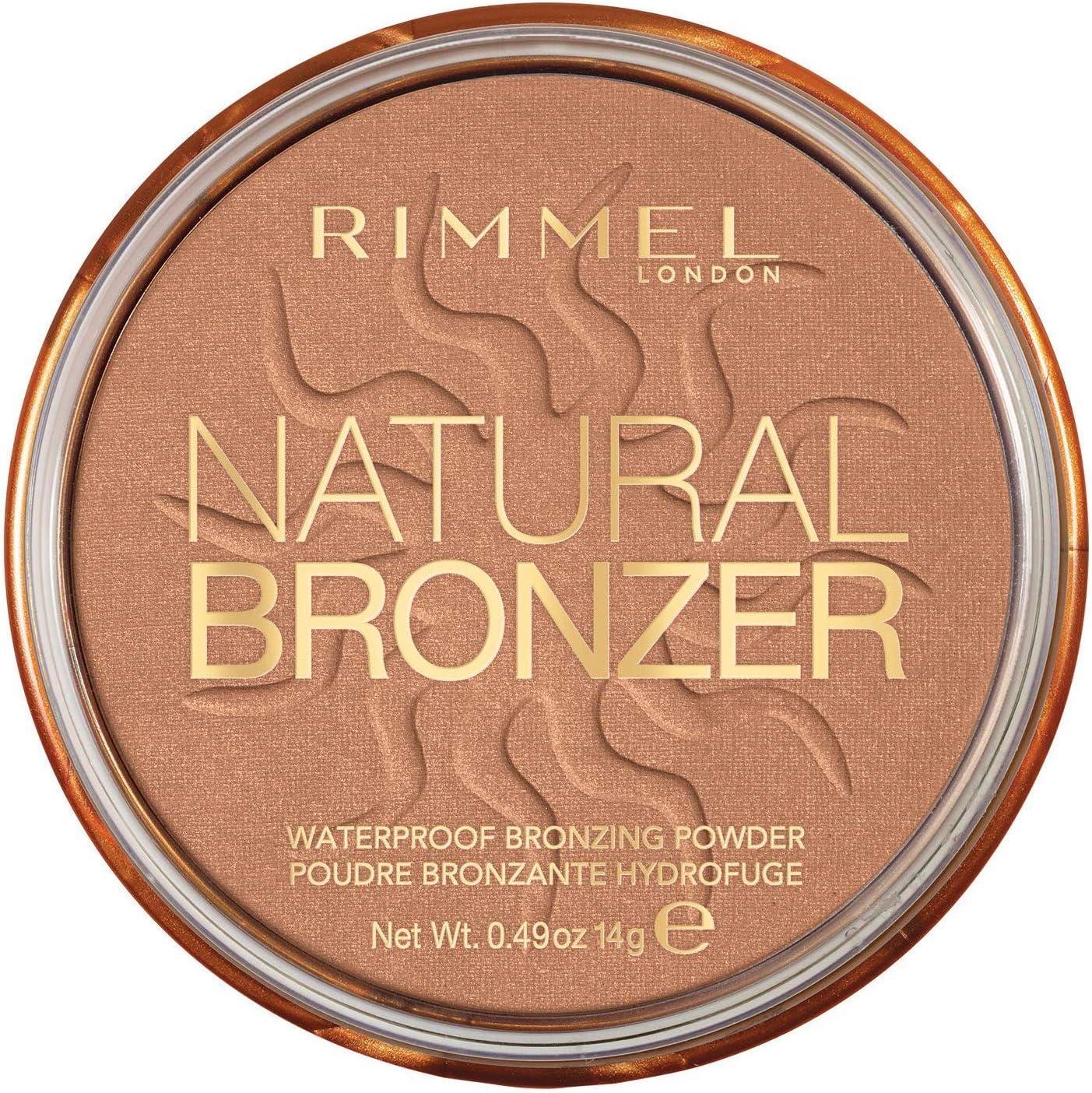 Rimmel London – Natural Bronzer – Polvos bronceadora, marrón, pack de 2: Amazon.es: Belleza
