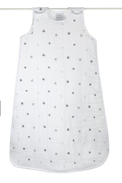 aden + anais Twinkle Cozy Plus - sacos de dormir para bebés (Multi, Pattern, Algodón, M, Cremallera): Amazon.es: Bebé