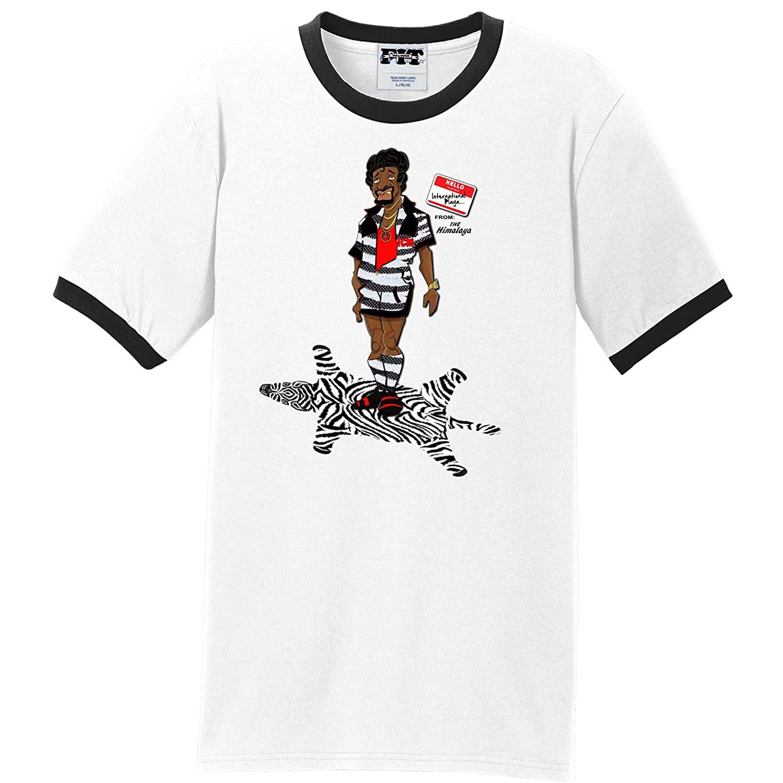 ac4c9ff3e Amazon.com  We Will Fit Blk Wht Jerome Shirt to Match Adidas Yeezy Boost  350 V2 Zebra yebra  Clothing