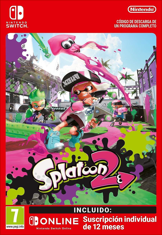 Splatoon 2 + 12 Meses Switch Online Limited Edition   Nintendo ...