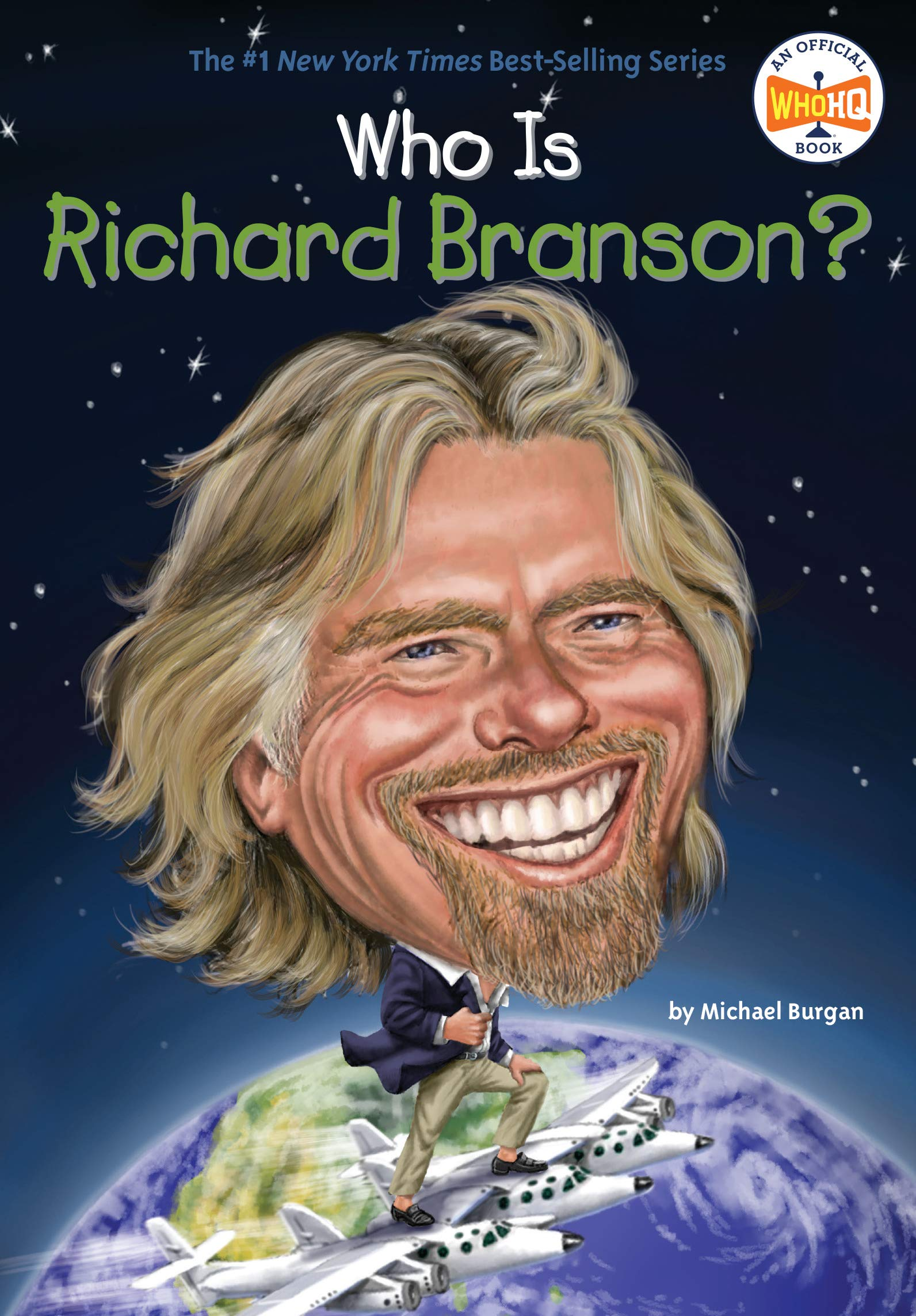 Download Who Is Richard Branson? (Who Was?) ebook