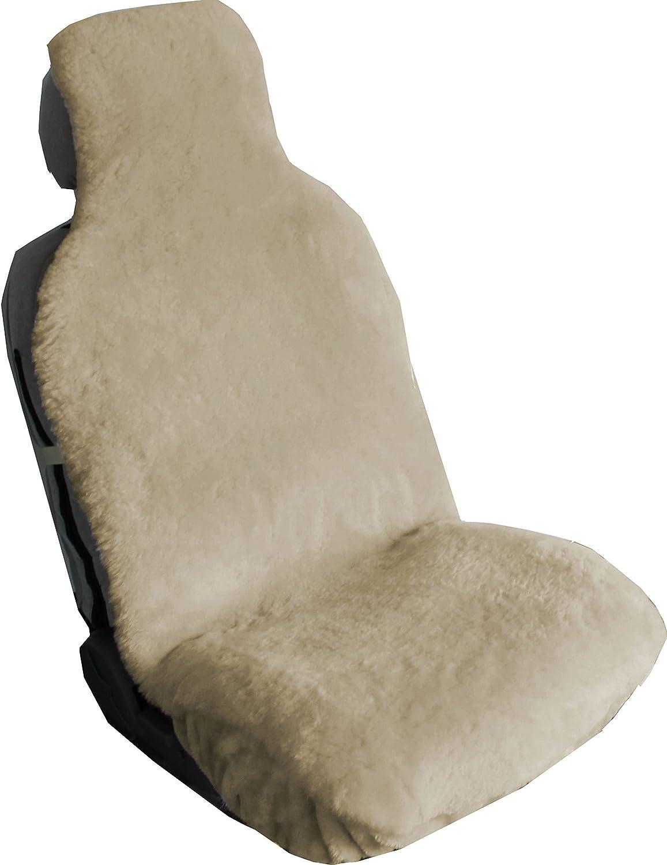 Aegis Cover 701009SND Australian Sheepskin Wrap seat Cover Airbag Ready (Sand)
