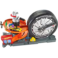 Hot Wheels Tienda de neumáticos supergiros, pista