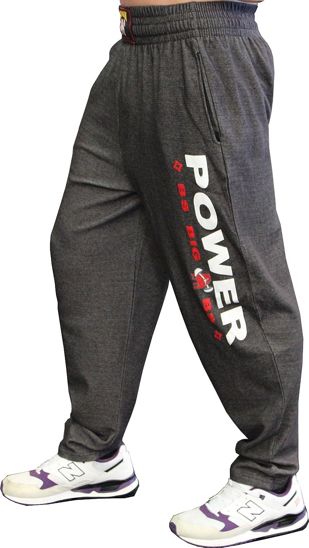 BIG SM EXTREME SPORTSWEAR Herren Bodyhose Jogginghose Sporthose Bodybuilding 1057