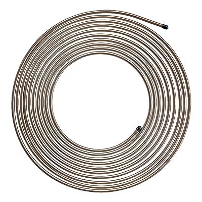 4LIFETIMELINES Copper-Nickel Brake Line Tubing Coil - 1/4 Inch, 25 Feet: Automotive