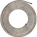 4LIFETIMELINES Copper-Nickel Brake Line Tubing Coil - 1/4 Inch, 25 Feet
