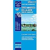 Carte de randonnée 2944OT Stes maries de la mer PNR de camargue / Echelle 1 : 25 000 - 1 cm = 250 m