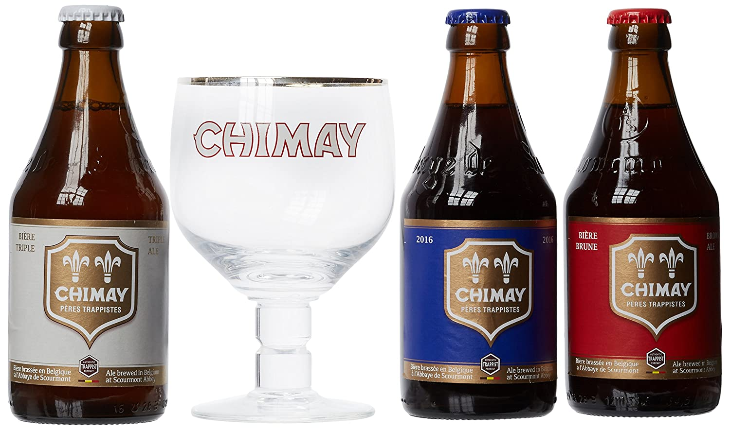 Chimay Beer Gift Pack 33 cl: Amazon.co.uk: Grocery