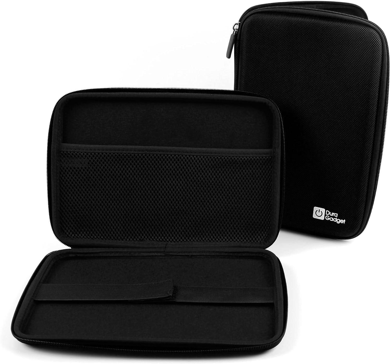 DURAGADGET Black Rigid Protective Case - Compatible with Dell Venue 8 /GoClever Terra 90 | TAB I921 /TabletExpress Allwinner A20 & DMG T909 Tablets