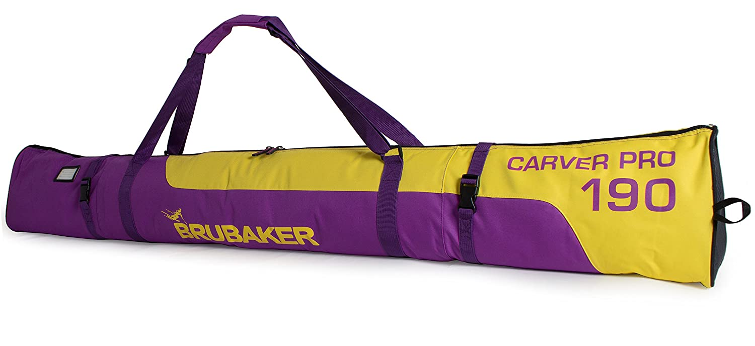 Limited Edition Combo Ski Boot Bag and Ski Bag for 1 Pair of Ski Poles BRUBAKER Superfunction Boots and Helmet