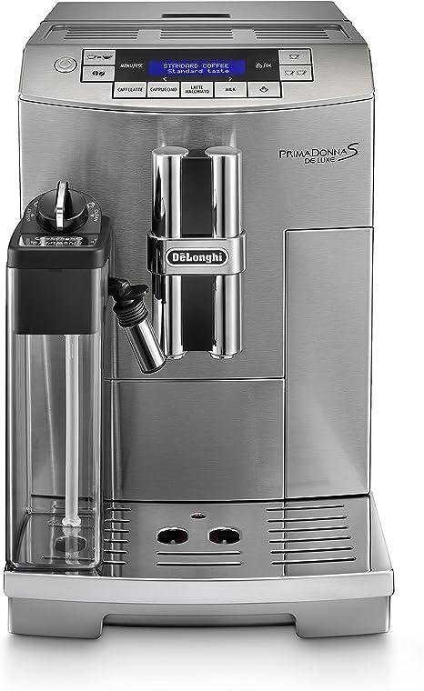 DeLonghi ECAM 28.465.M Cafetera semi-automática, 1450 W, 220-240 V, 15 bares, 2 tazas, plástico, gris: Amazon.es: Hogar