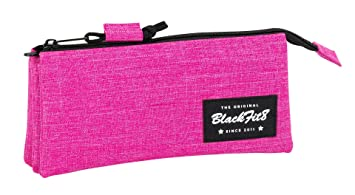 Blackfit8-Blackfit Blackfit8-Estuche portatodo Triple, Color ...