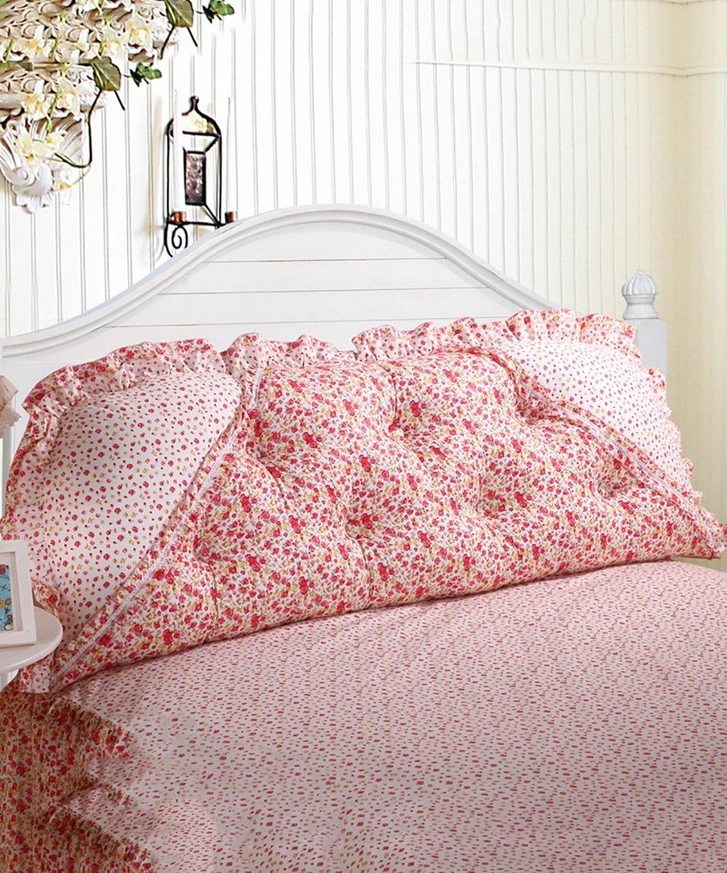 ZEMIN クッション ベッドの背もたれ ヘッドボード バック 綿のベッドサイドクッションベッドソファの枕脱着可能なPPの綿のバックルの腰の枕大きなサイズ ( 色 : #5 , サイズ さいず : 115*50cm ) B07BFM3MPY 115*50cm|#5 #5 115*50cm