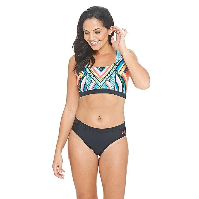 b947a33b35 Zoggs Women's Breeze Muscle 2 Piece Bikini Set: Amazon.co.uk: Sports &  Outdoors