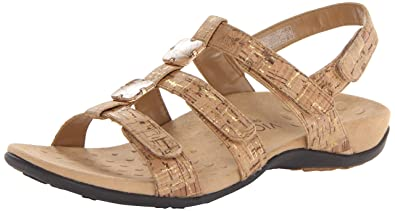 fad8fe8ba09b Vionic Women s Women s Rest Amber Backstrap Sandal - Ladies Adjustable  Walking Sandals with Concealed Orthotic Arch