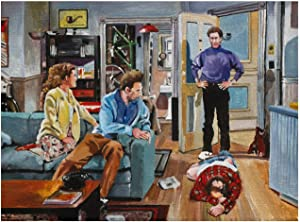 NATVVA and You Want to be My Latex Salesman! Seinfeld Art Prints Poster Wall Art Canvas Artwork Wall Decor Prints Painting Art Prints Picture Home Decoration Living Room Decor No Frame 30x50cm
