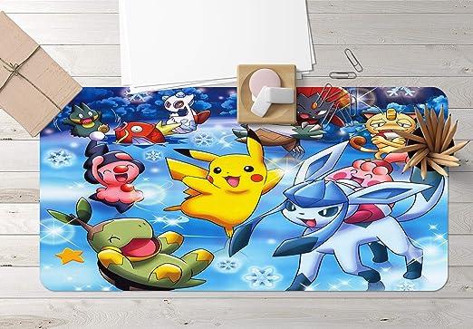 Aj Wallpaper 3d Desk Mat For Pokemon Pikachu C607 Japan