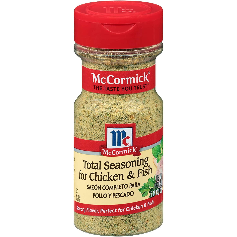 McCormick Chicken & Fish Total Seasoning, 5.37 oz