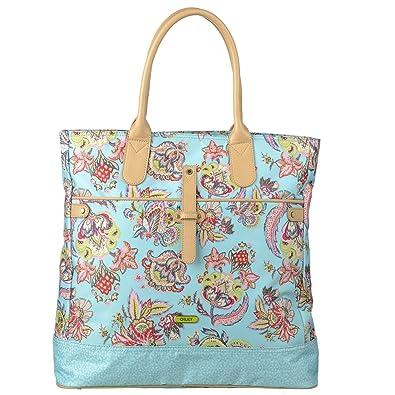 Summer Flowers Hobo Bag Aqua Oilily gzVNQOq