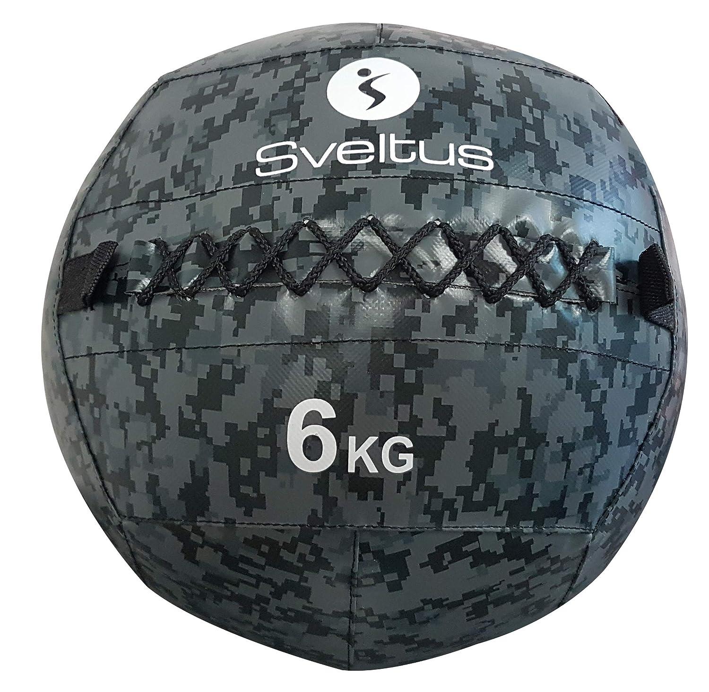 Sveltus 4926 Wall Ball, Camouflage, 6 kg