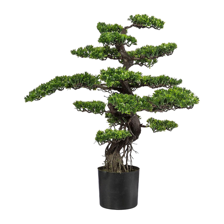 Wohnfuehlidee Kunstpflanze Bonsai grün, im Kunststoff-Topf, Höhe ca. ca. ca. 90 cm 2208e4